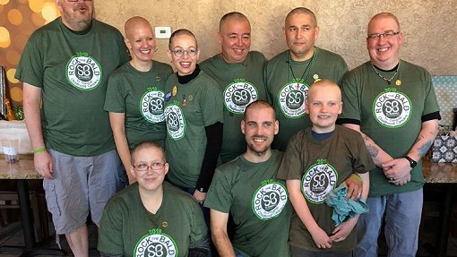 Entourage Goes Bald for the Kids
