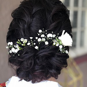 Wedding style with flowers